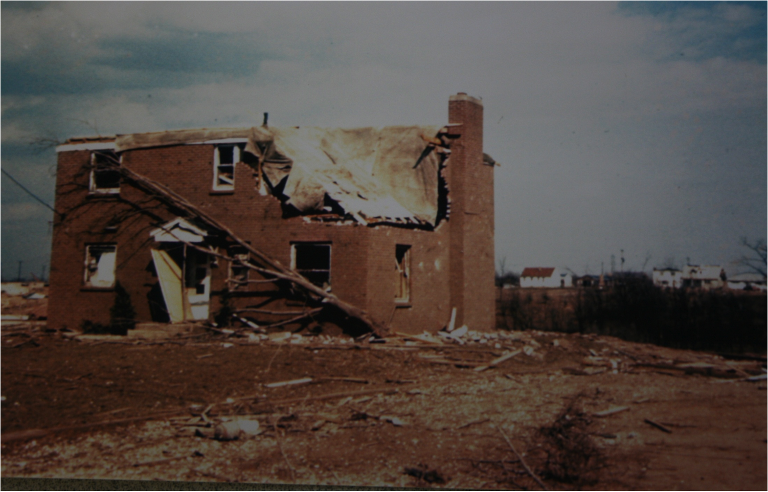 Parsonage after Tornado